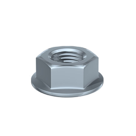 TIMco Hex Serrated Flange Nuts
