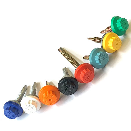 Colourtite self-drilling & tapping fasteners