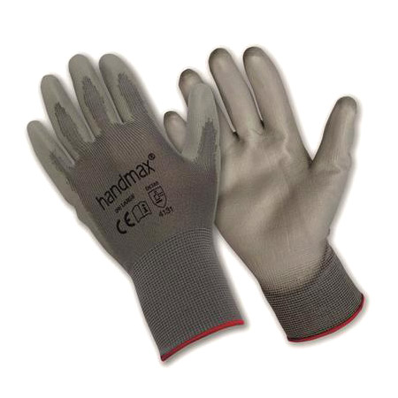 Handymax Arizona grey PU gloves