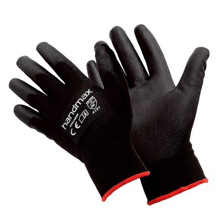 Handymax Atlanta white PU gloves