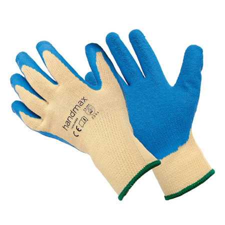 Texas blue kevlar gloves