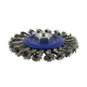 Twisted Knot Stainless Steel Wire Brush